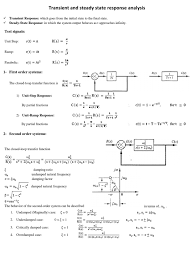 linear control cheat sheet control theory systems science