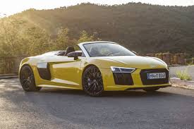 audi supercar audi r8 spyder 2016 road test road tests honest john