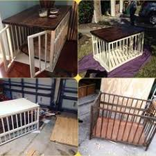 beautify your dog u0027s crate with this simple table build pet pet