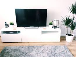 tv stand appealing ikea bookshelf converted to floating tv stand