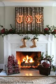 How To Decorate A Mantel For Christmas Christmas House Tour Tons Of Decorating Ideas