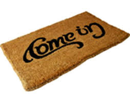 Come In And Go Away Doormat Thanks For Coming Now Go Away
