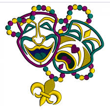 mardi gras embroidery designs two masks mardi gras applique machine embroidery digitized design patterna 700x700 png