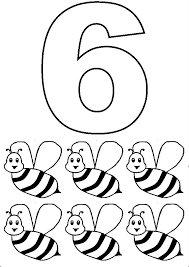35 simple numbers images coloring numbers