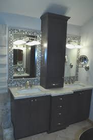 Bathroom Counter Storage Tower Bathroom Vanity With Hutch Antique Bathroom Vanities Made From