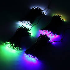 solar power led lights 100 bulb string 100 led solar powered fairy string lights decorative out door