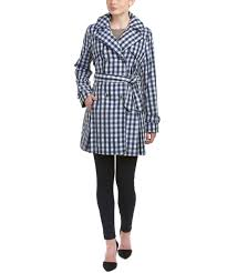 laundry by shelli segal laundry laundry by shelli segal plaid trench coat bluefly