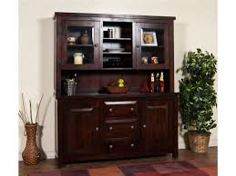 farmhouse buffet with wine storage serving tables dining