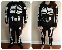 Maternity Skeleton Halloween Costumes by Live A Little Wilder Halloween The Costumes