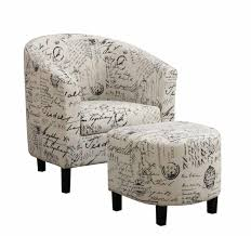 Chair W Ottoman Accent Chair With Ottoman 900210ii Chair W Ottoman Mike S