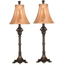 livingroom lamp kenroy home rowan 31 in metallic bronze buffet lamp set 2 pack