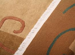 Tibetan Hand Knotted Rug Contemporary Modern Beige Brown Tibetan Hand Knotted Rug Indo