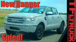 ranger ford 2019 at last the 2019 ford ranger caught on video in the wild youtube