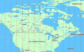 Ottawa Canada Map Accurate Distance Buffers Over Very Large Distances Numptys