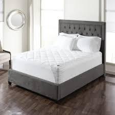 breathable organic mattress pad wayfair