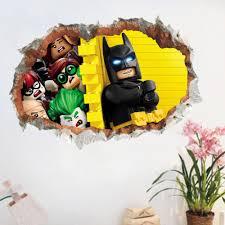 Stickers For Kids Room Online Get Cheap Batman Wall Sticker For Kids Room Aliexpress Com
