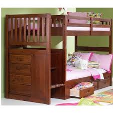 Hardwood Bunk Bed Wooden Bunk Beds With Stairs Solid Wood Step Bunks