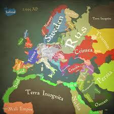 World Map Winter by Crusader Kings Ii World Map Imgur
