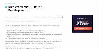 17 tutorials on how to create a wordpress theme 2017 colorlib