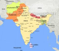 Political Map Of Southwest Asia by South Asia Map Roundtripticket Me