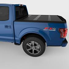 Ford F150 Truck Accessories - undercover flex hard folding tonneau cover ford f 150 2015 2017