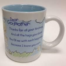 godmother mugs precious moments 2003 godmother mug