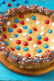 Red White And Blue Chocolate Patriotic Cookie Cake Dinner At The Zoo
