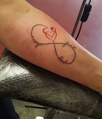 image result for infinity symbol with heart tattoo tattoos