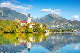 lake bled lake bled that considered to have healing powers on idyllic