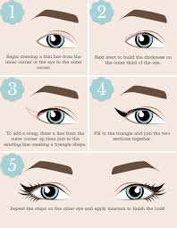 liquid eyeliner tutorial asian the right way to apply eyeliner for your eye shape beauty and the