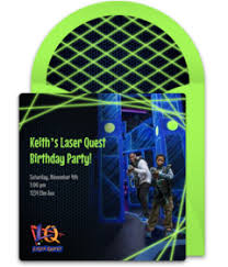 free laser quest online invitations punchbowl