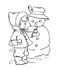 10 coloring pages winter images coloring