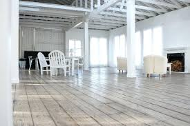 modern ideas white washed wood flooring pale component dining room