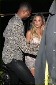 khloe kardashian u0027s boyfriend tristan thompson joins her at