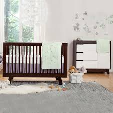 Best Baby Convertible Cribs by Babyletto 2 Piece Nursery Set Hudson 3 In 1 Convertible Crib And