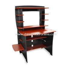 wholesale legare black and red desk with hutch buy discount legare