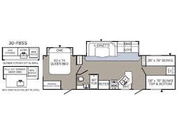 Puma Travel Trailers Floor Plans New Or Used Palomino Puma 30fbss Travel Trailer Rvs For Sale