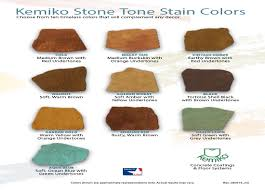 Stain Color Chart Concrete Coating Color Chart Stained Concrete Faq