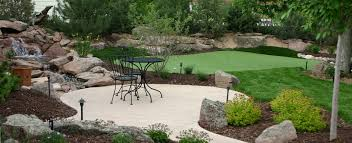 Putting Green Backyard by Tourplay Golf Colorado Architectual Quality Artificial Synthetic