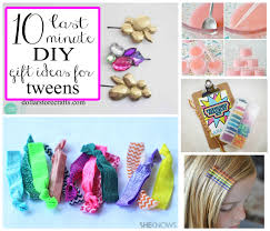 10 last minute diy gifts for tween crafts clever crafts