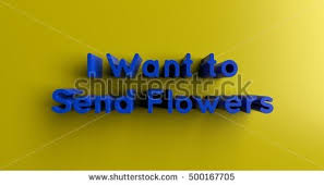 how to send flowers to someone want send flowers someone 3d rendered stock illustration 500167705