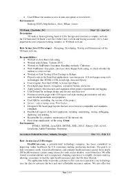 hadoop developer resume 19 project trainee resume samples