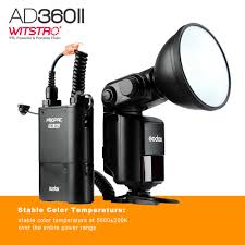 godox ad360 ii witstro ad360ii ttl camera flash speedlite