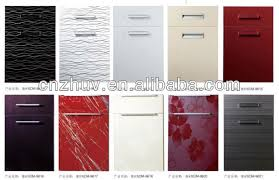 mdf kitchen cabinet doors best high gloss acrylic and pvc kitchen cabinet door cupboard
