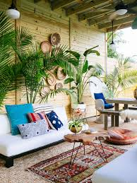 a shabby patio becomes an outdoor living room front main