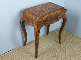 victorian style side table victorian 19th century burr walnut marquetry inlaid jardinière