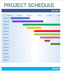 project schedule template 9 free sample example format free