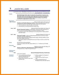 Resume Format For Operations Profile 10 Perfect Resume Format For Experience Address Example