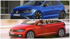 2018 volkswagen polo r and gti cabrio rendered autoevolution