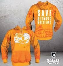 olympic wrestling custom hoodie